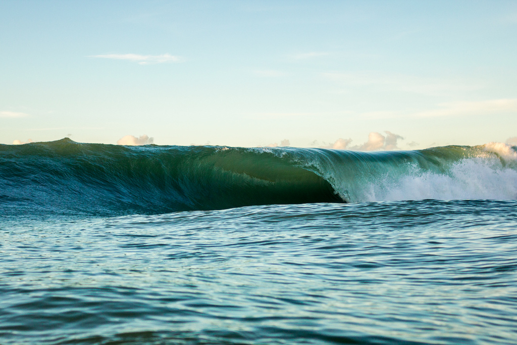 Morning Glass, shot with the Canon 28mm lens in Aquatech housing