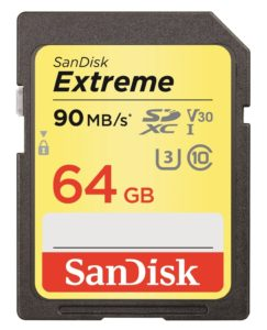 Sandisk Extreme SD card, one of my top 5 gifts for surf photographers