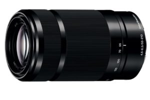 The Sony 55-210mm telephoto zoom is great value and performs well for the price