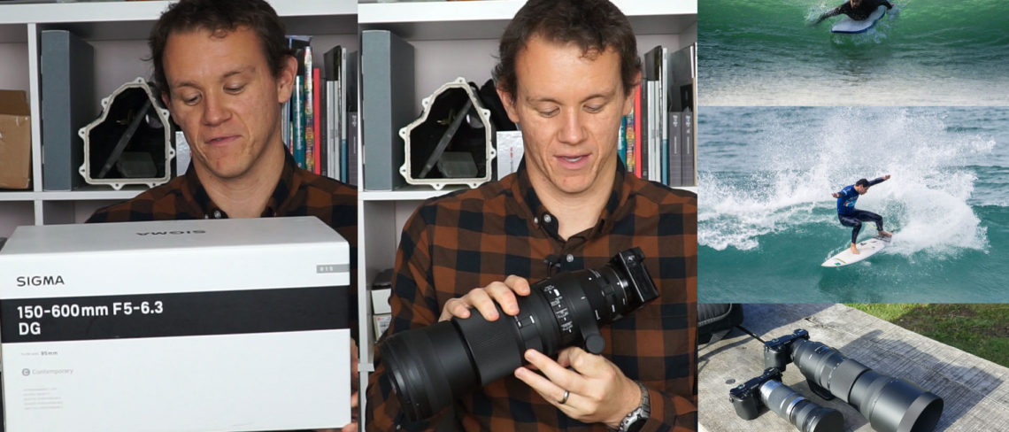 Sigma 150-600mm Contemporary lens review video