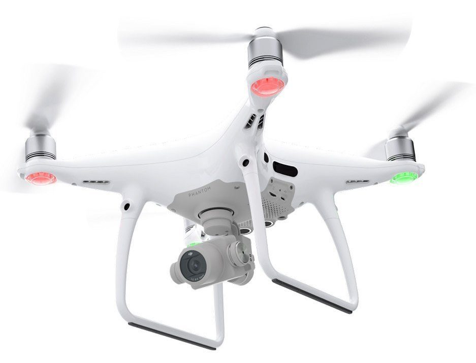 Laserwolf uses this DJI Phantom 4 Pro drone