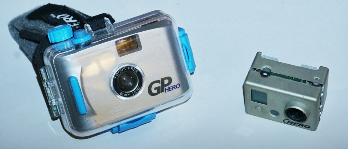 Old gopro hero cameras can now be traded in for a discount