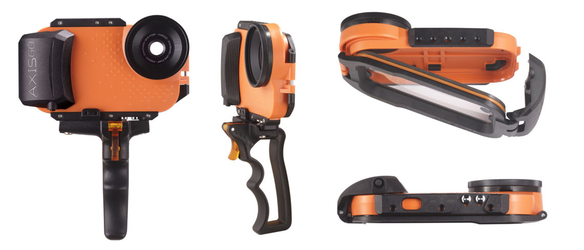 Aquatech AxisGO water housing for iPhone