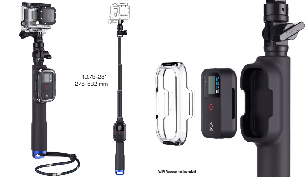 Sp Gadgets Remote Pole GoPro handle