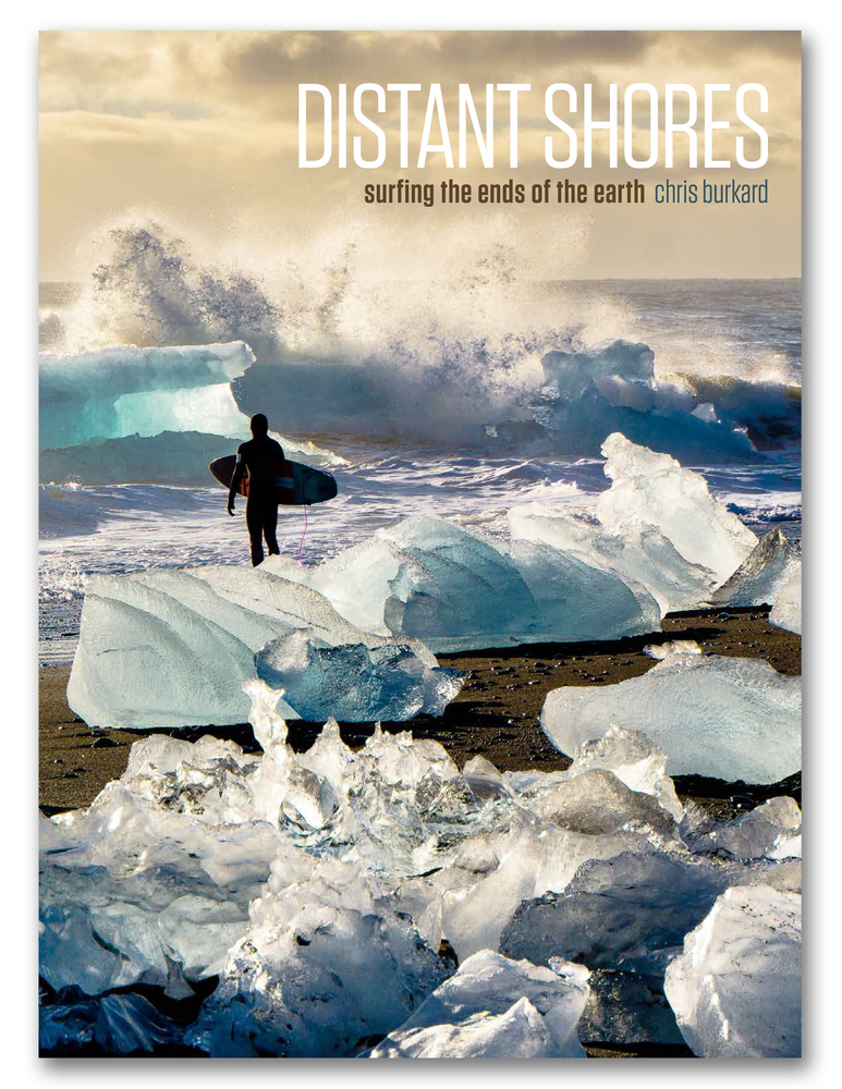 The Cover of Chris Burkards new book Distant Shores