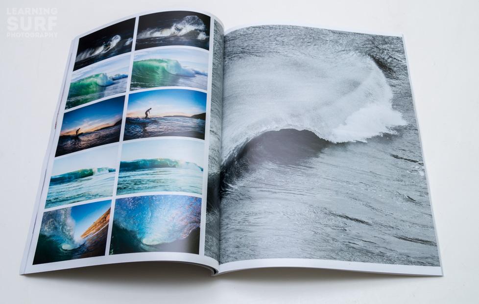 A spread from my first Blurb magazine, I ♥ SD.