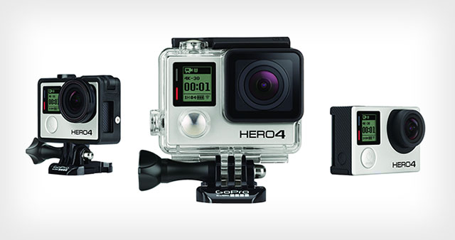 GoPro Hero 4 black ediiton, photo via PetaPixel.