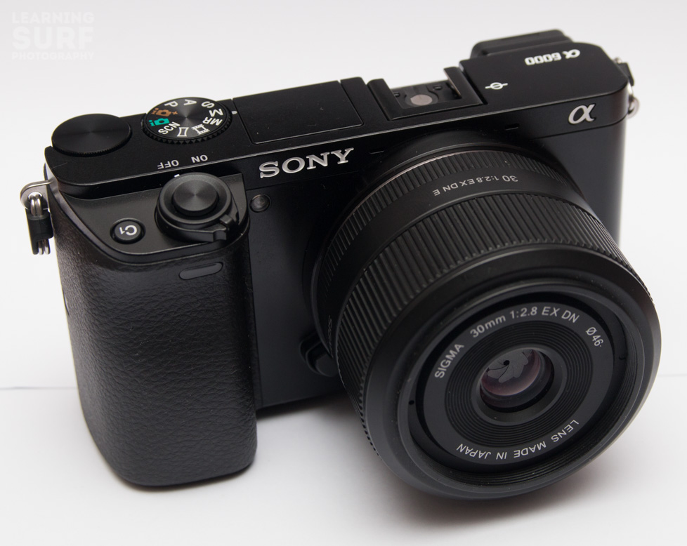 "My new ""backup"" camera, a Sony a6000, which might end up being my primary camera..."