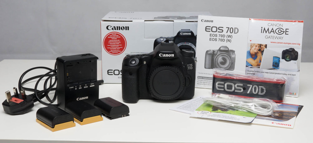 My Canon 70D is up for sale on eBay