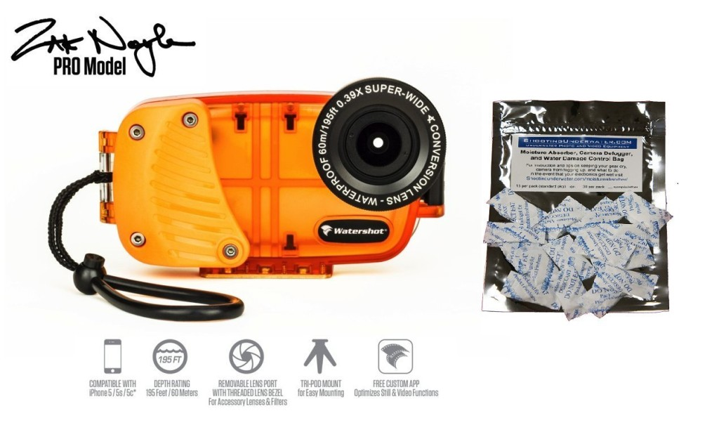 The Zak Noyle signature Watershot housing for iPhone
