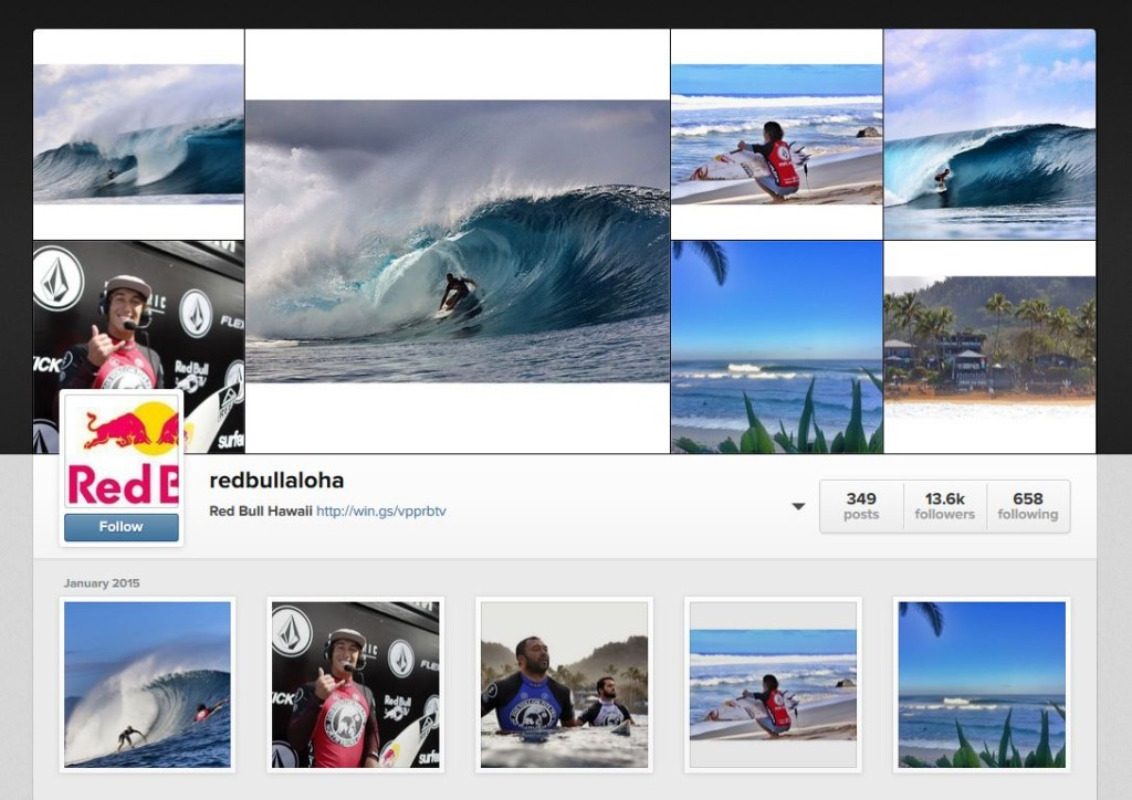 Follow redBullAloha on instagram for up t the minute updates from Zak Noyle