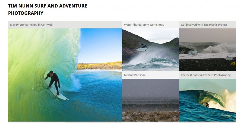 Tim Nunn runs surf photography workshops in the UK throughout the summer, click the image to head to his site for more information.