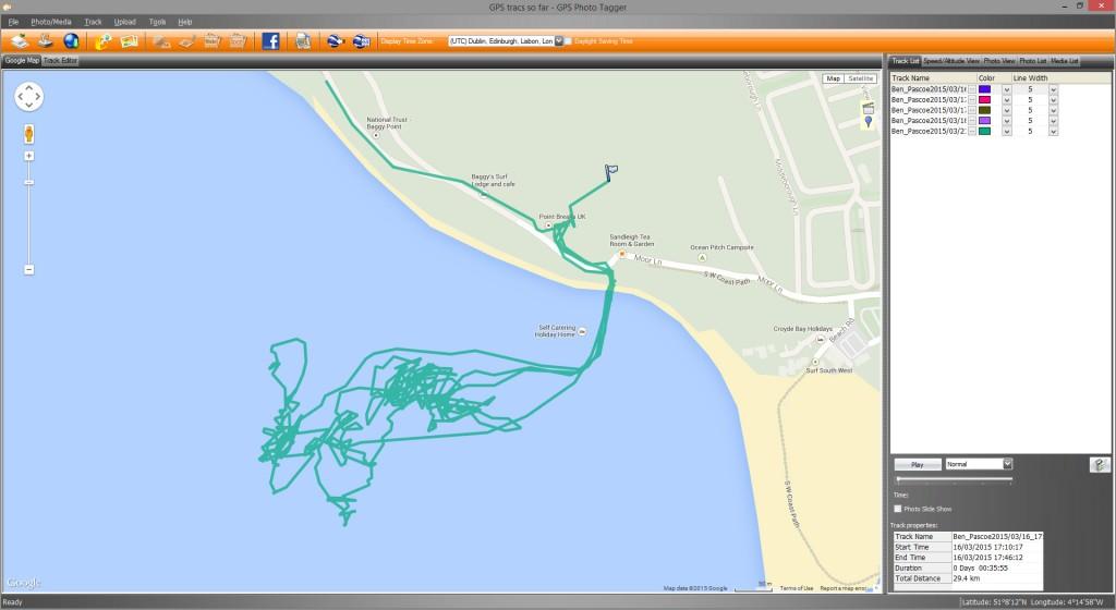 GPS Photo tracker
