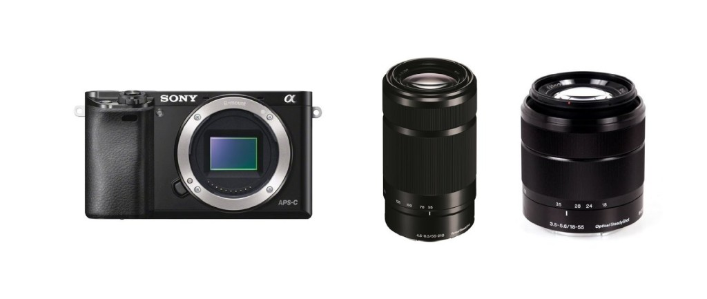 Sony a6000package on Amazon.com