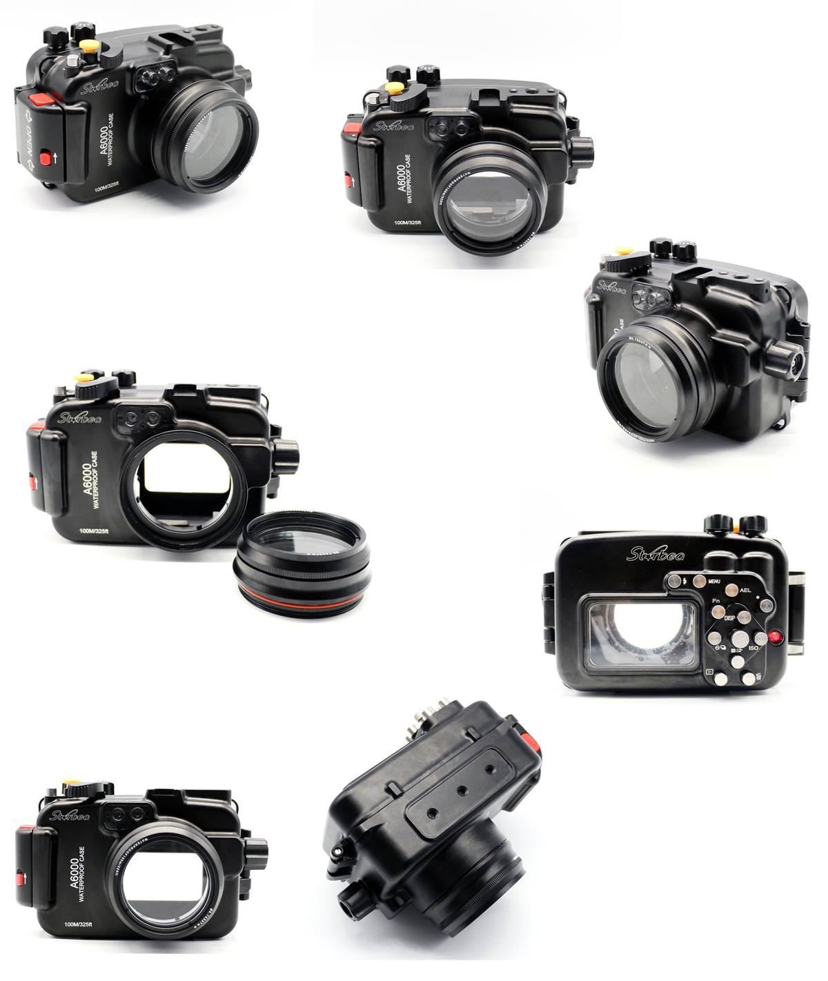 Meikon Starbea water housing for the Sony a6000