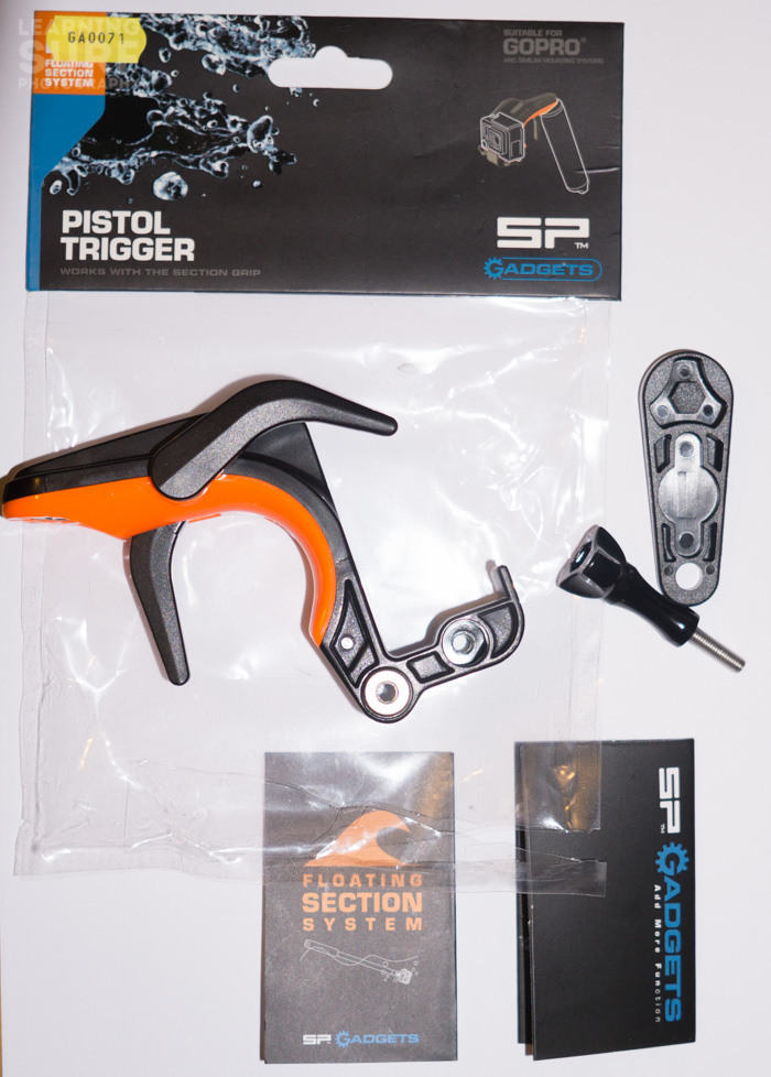 The Sp Gadgets Section GoPro Pistol Trigger package