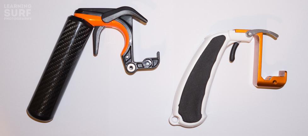 I would recommend the KNEKT GPLT GoPro Pistol Trigger over the SP Gadgets Section GoPro Pistol trigger