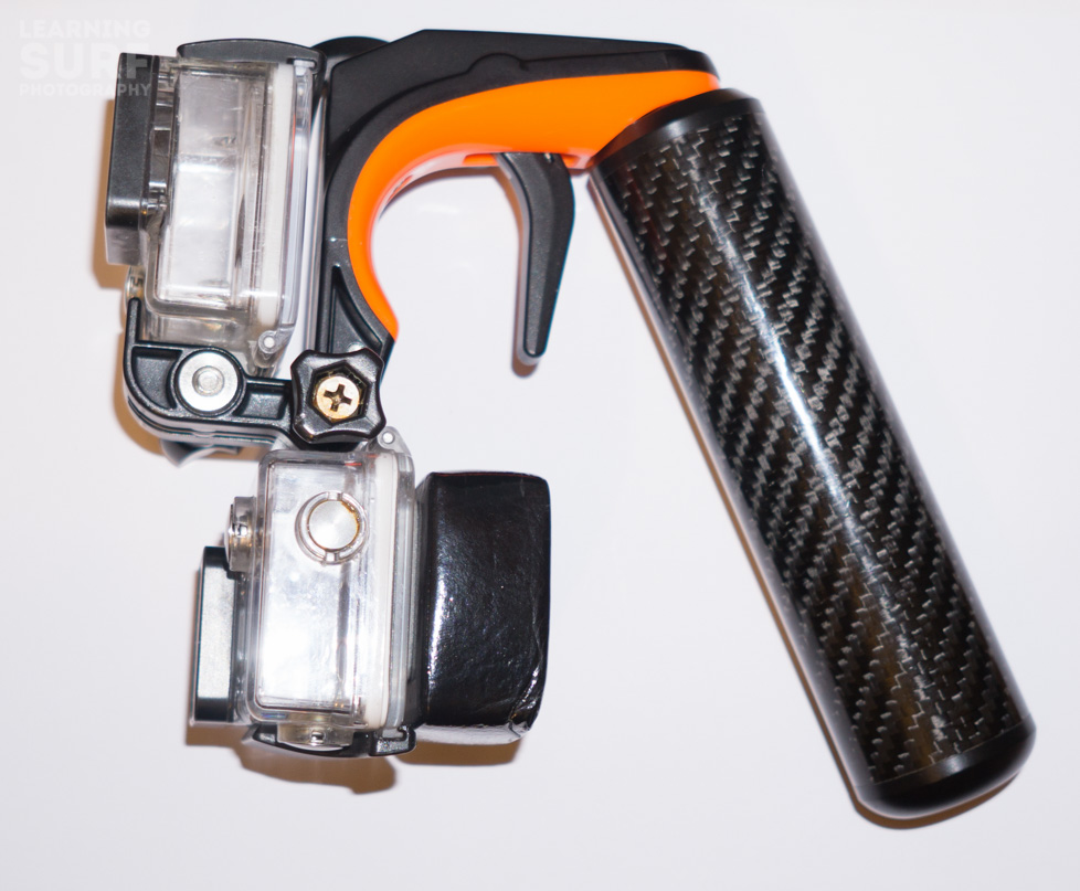 Having an extra GoPro mount on the bottom of the SP Gadgets Section GoPro Pistol Trigger is a nice touch