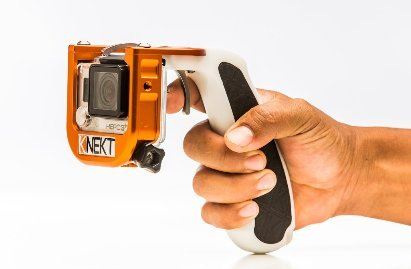The KNEKT GP4 GoPro Pistol Trigger