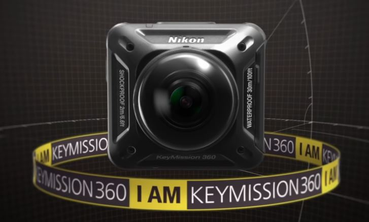 The Nikon KeyMission 360 camera could be the best option for shooting 360 degree video of surf