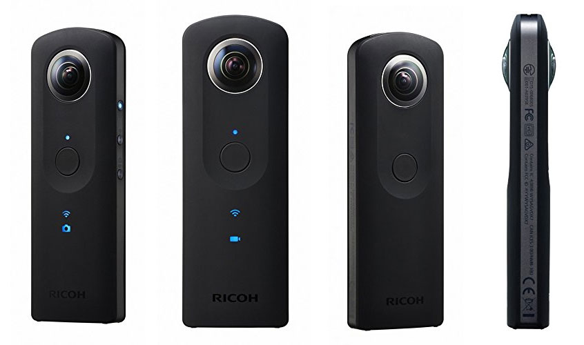 Ricoh Theta S the best optionfor 360 degree video of surfing