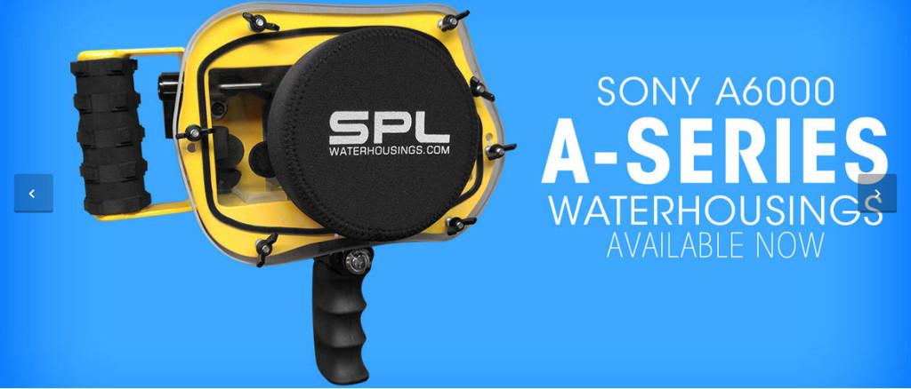 Sony a6000 water housing by SPL