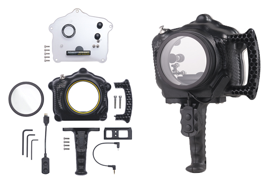 The Aquatech ATB A6000 and ATB A6300 share the same housing and back plate
