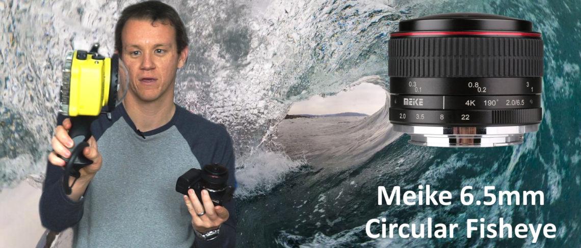 Meike 6.5mm Circular Fisheye unboxing on YouTube