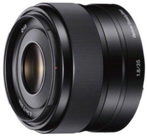 Sony 35mm f1.8 OSS lens