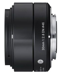 Sigma 30mm f2.8 lens