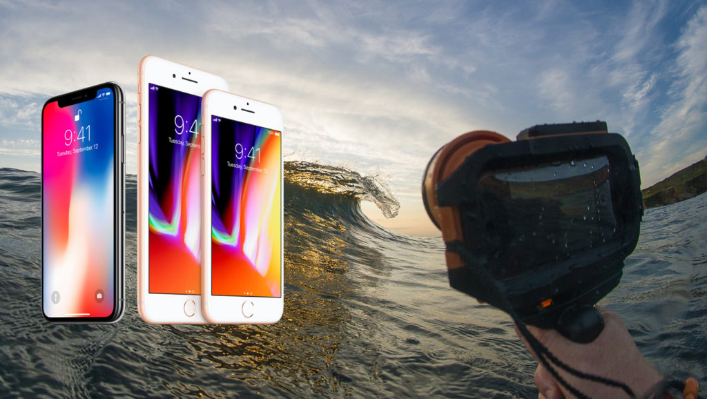 premium selection 991dd cea9f The iPhone 8, iPhone 8 plus and iPhone X for surf photography