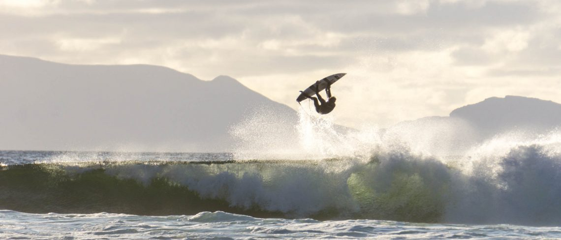 Noah Lane backflip, Ireland