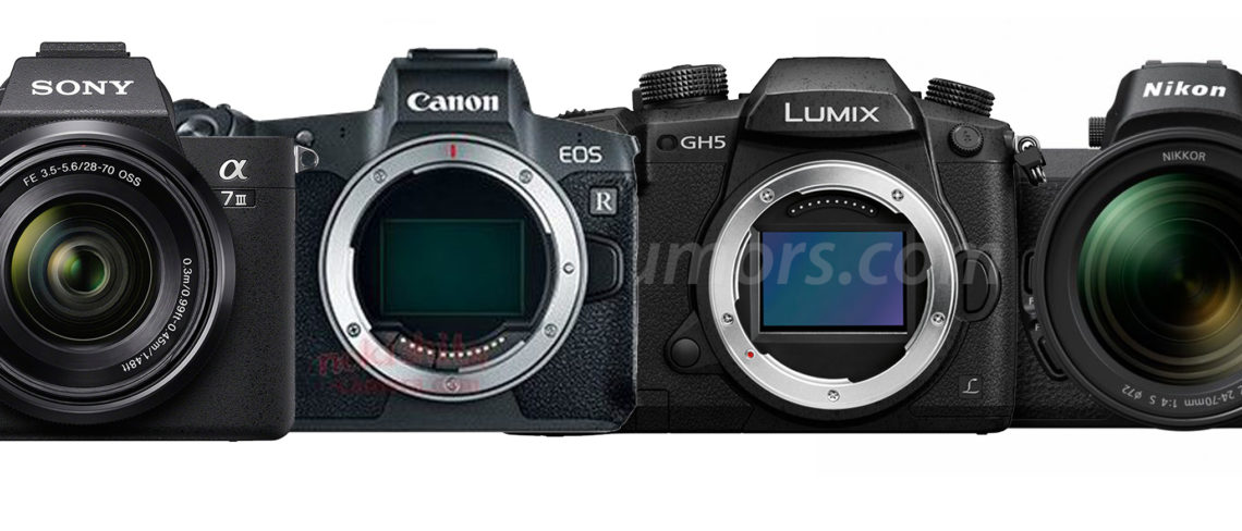 full frame mirrorless cameras