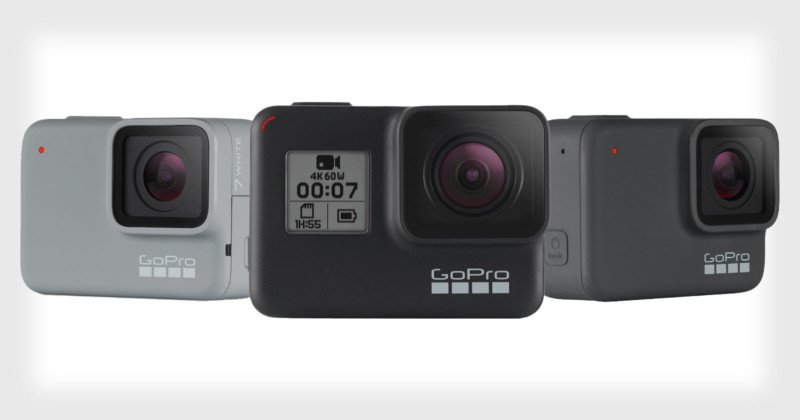 GoPro Hero 7 camera rnage - don't buy any of them for surf photography